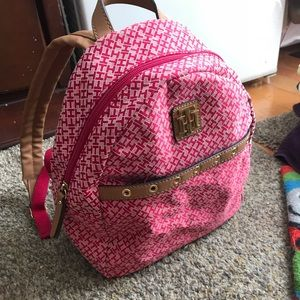 Tommy Hilfiger nice pink small backpack
